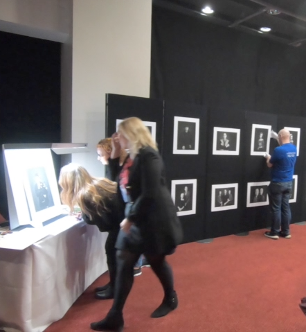 Panel of images being judged for a professional qualification