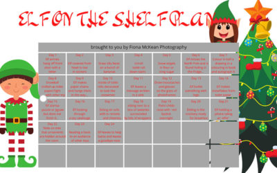 12 Days of Christmas 2020 – Day 1                                 Elf on the Shelf 24 day plan